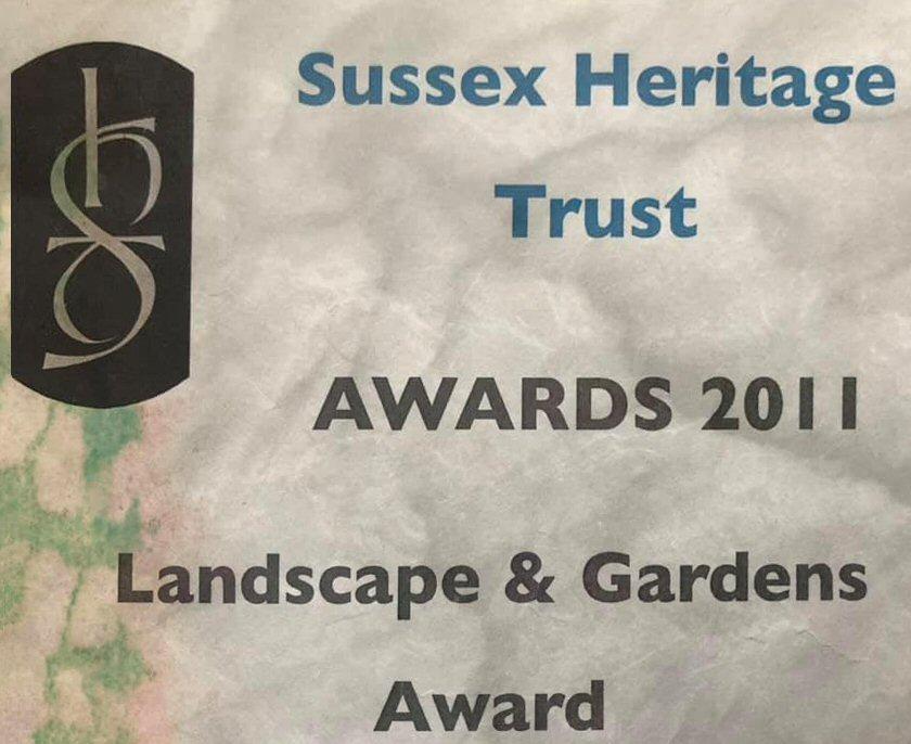 Sussex Heritage Trust's Landscape & Gardens Award 2011